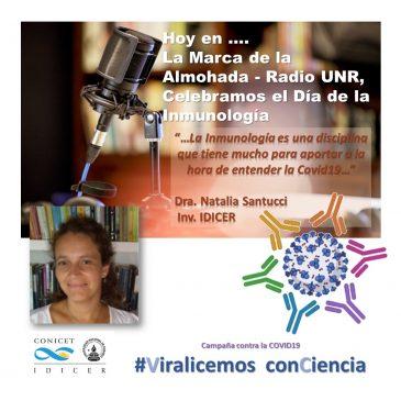 Día Internacional de la Inmunología y COVID19 – Entrevista Radial