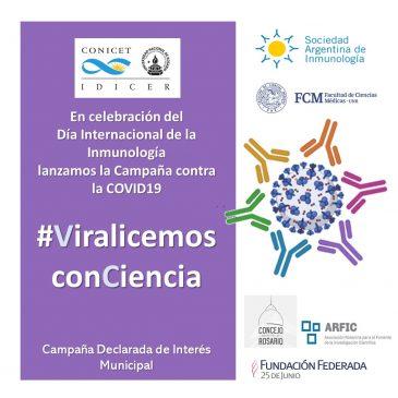 Viralicemos conCiencia  Campaña Institucional contra la COVID19